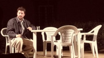 Riccardo Goretti, 'Gobbo a mattoni' (ph Igor Vazzaz), 01