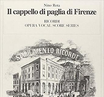 Il cappello di paglia di Firenze. Pisa 6baf1802d826